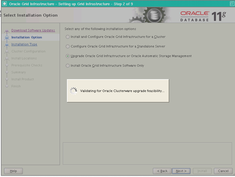 Upgrading 11gR2 RAC Grid Infrastructure to 11 2 0 3 | Oracle