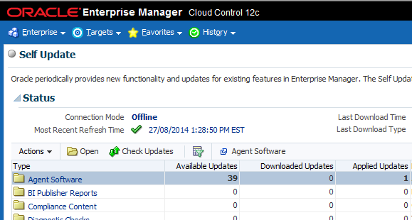 How to download the 12c Cloud Control Agent software