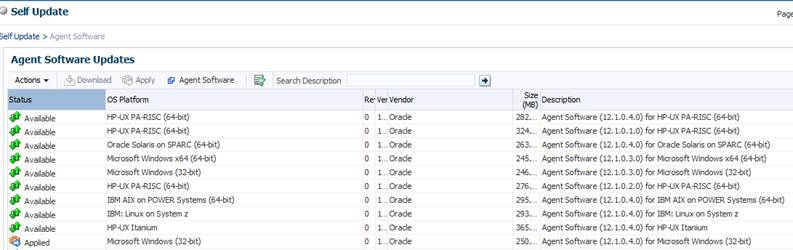 How to download the 12c Cloud Control Agent software | Oracle DBA