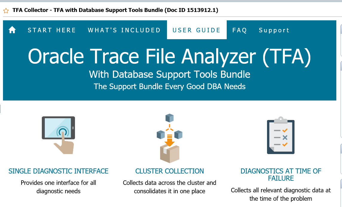 Trace File Analyzer 18 1 1 – 数据库数据恢复服务热线